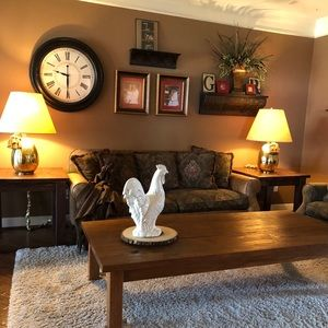 Coffee table/side table set